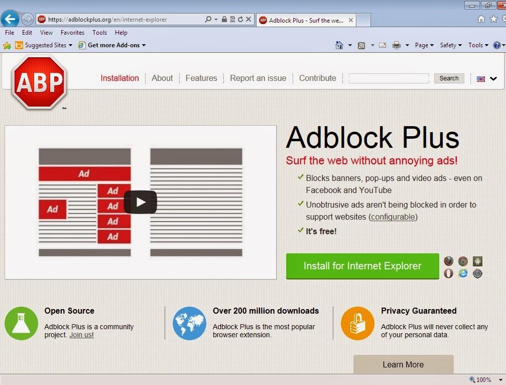 Download ad blocker for internet explorer