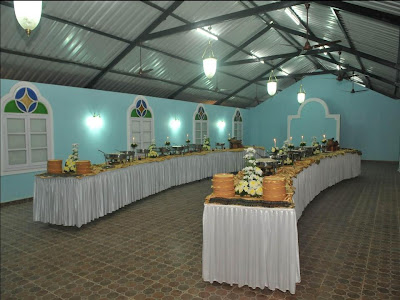 THE VILLAGE Wedding Hall Nuvem Goa Buffer Area