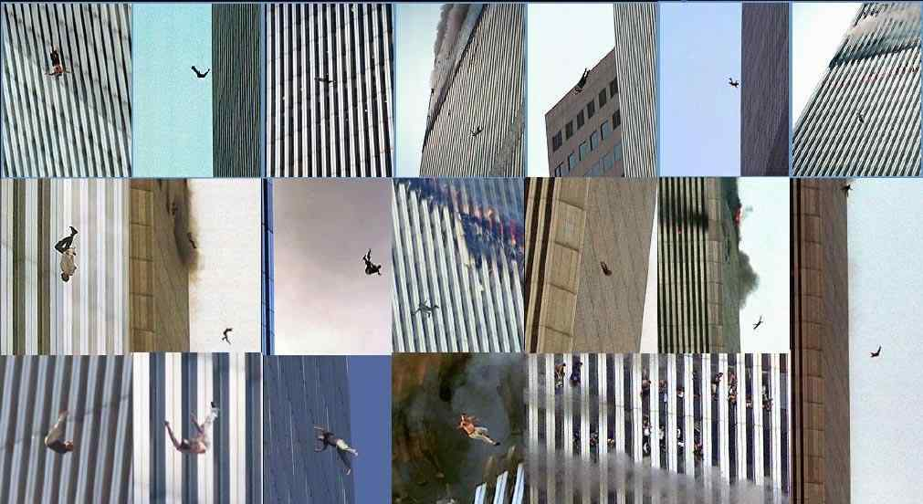 9 11 Falling Bodies 9 11 jumpers holding hands 9