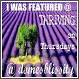 Featured on Thriving on Thursdays
