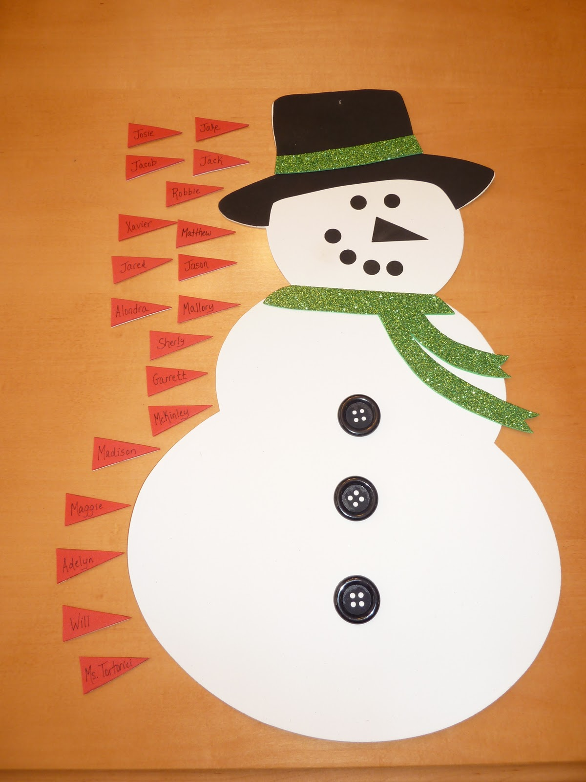 Snowman Nose Template Pin the nose on the snowman
