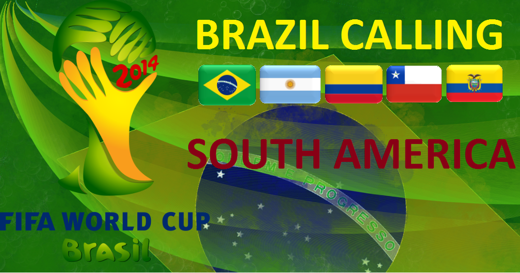 2014 FIFA World Cup Teams South America