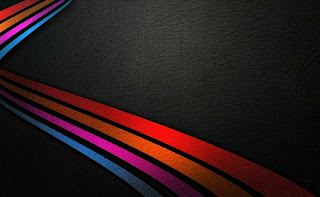 Black Background Colors Stripes HD Wallpaper
