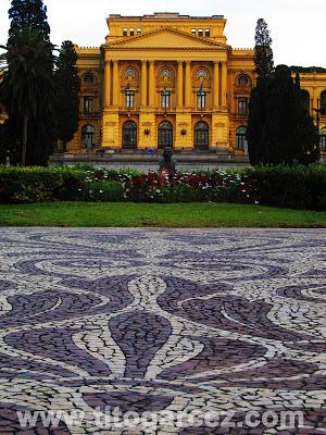 Jardim e Museu Paulista (ou Museu do Ipiranga), em São Paulo - Por Tito Garcez