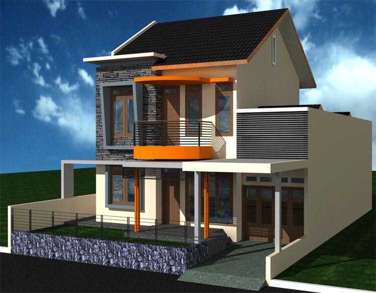sitemap gambar desain rumah minimalis modern