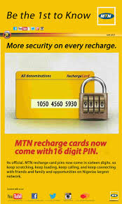 16 SECURED MTN RECHARGE VOUCHER