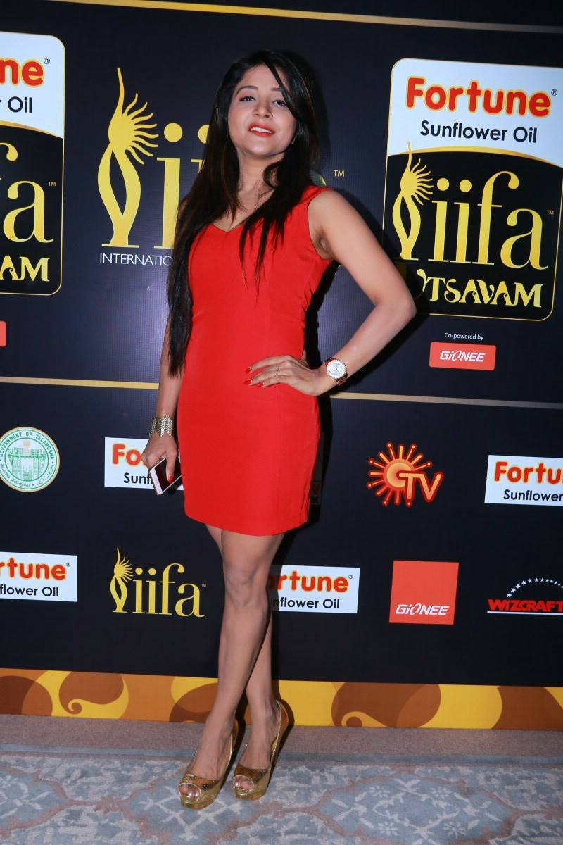 Sakshi Agarwal Latest Stills At IIFA Utsavam Press Meet