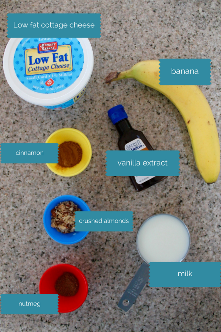 Clean Eating Drink: Banana Bread Breakfast Smoothie