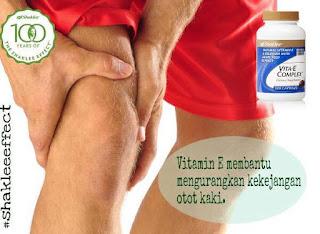 Punca Otot Kekejangan Dan Cara Merawatnya Dengan Vitamin E