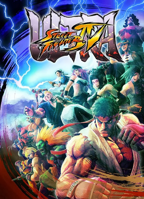 Official Ultra Street Fighter IV Poster