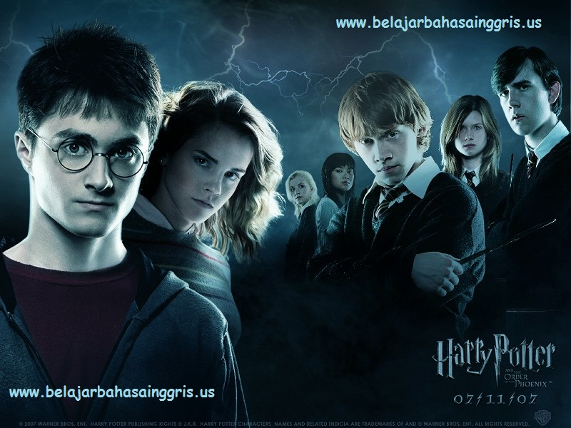 Contoh Review Text Harry Potter: Order - English Conversation