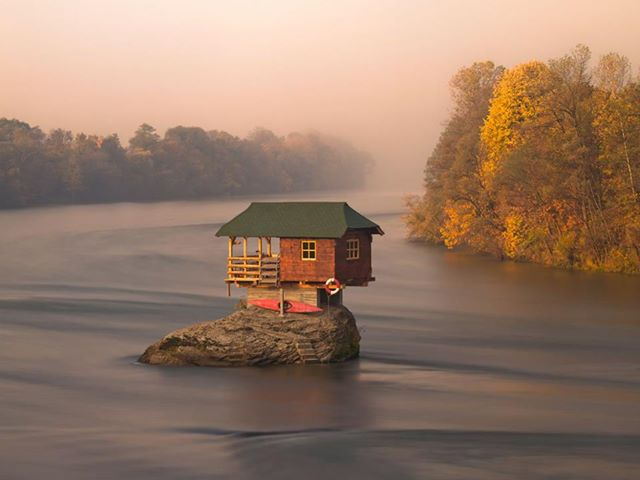 A Tiny River House in Serbia   discover-wd