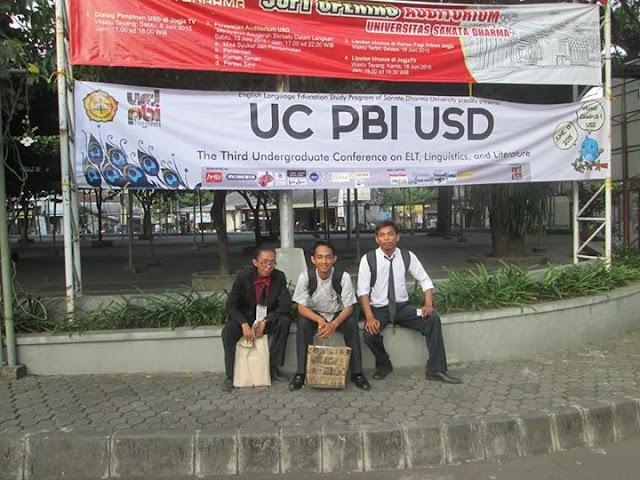 3 Mahasiswa PBI UM Metro Berhasil Meraih Juara ke III dalam Acara UC PBI USD 2015