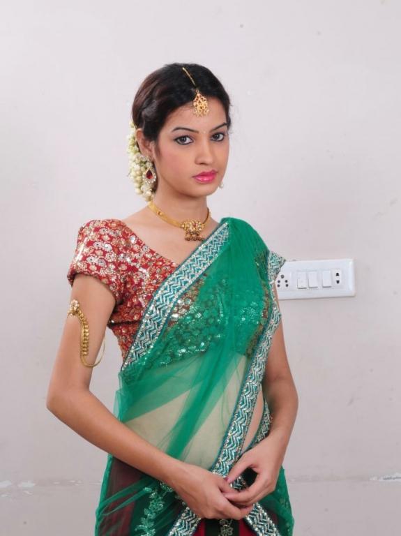 Diksha Panth Latest Hot and Cute Stills in Half Saree