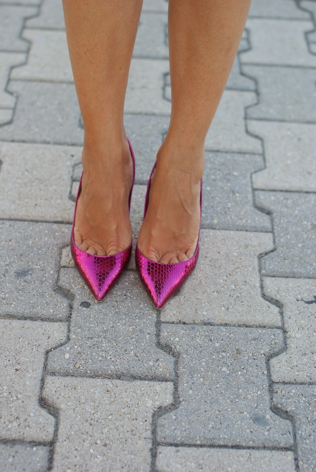 le silla fuchsia shoes, Fashion and Cookies, fashion blogger
