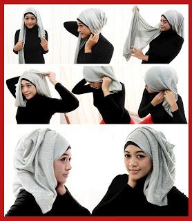 Tips cara memasang jilbab pashmina | Aneka Tips Harian