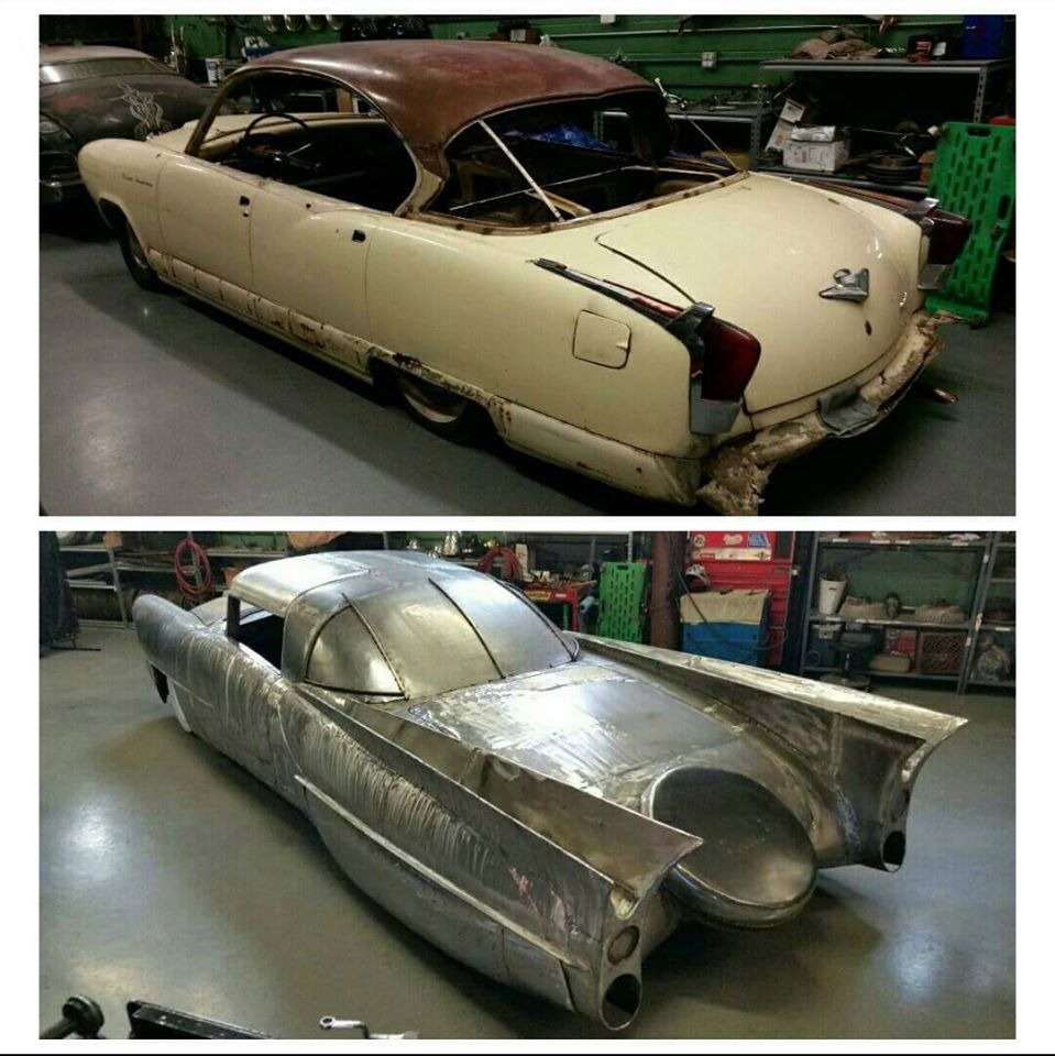 Just A Car Guy: Before and after transformation of Voodoo Larry\'s ...