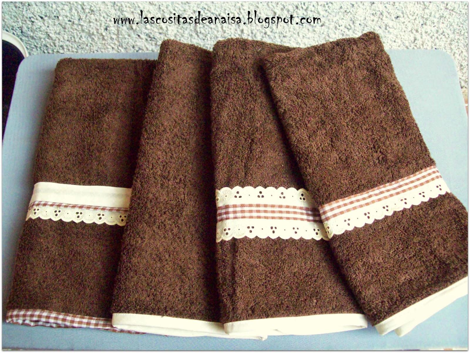 El taller de anaisa toallas para la cocina o para el ba o - Toallas para bano ...