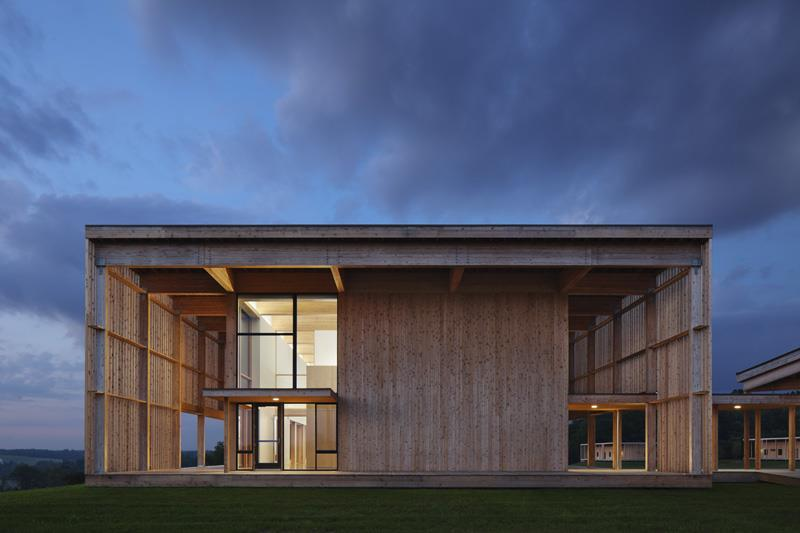 Won Dharma Center By Hanrahan Meyers Architects Llp