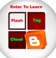 How To Add Flash Tag Cloud To Blogger