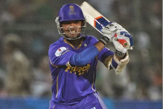 Ajinkya-Rahane-Rajasthan-Royals-vs-Mumbai-Indians-M1-CLT20-2013