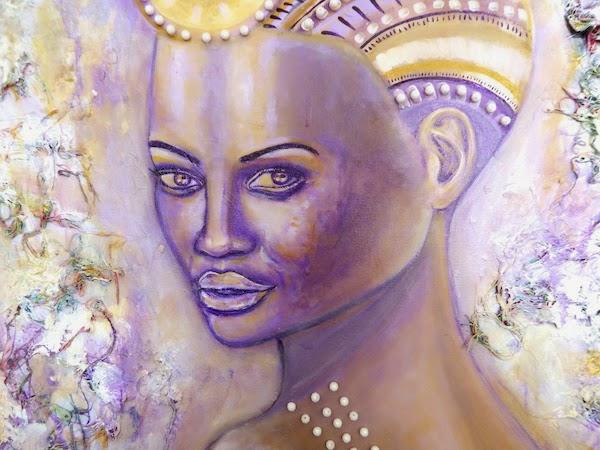 Ascension, Mixed Media on Canvas, by Sabrina Brett 11