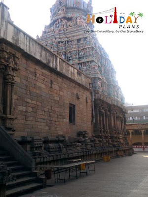 View of Gopuram from Inside
