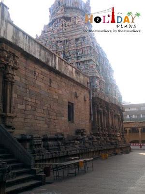 View of Gopuram from Inside