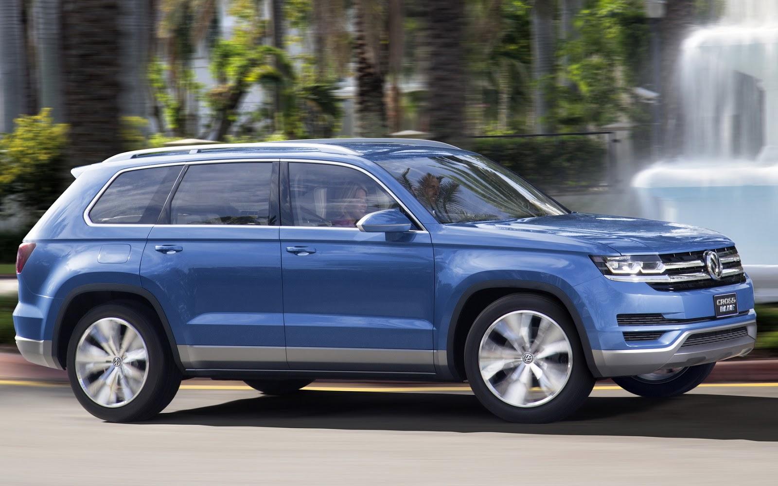 Volkswagen Atlas Lan 231 Amento Ocorre Em Outubro Nos Eua