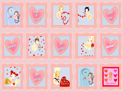 14 door Valentine Calendar free download for print or PowerPoint by Robert Aaron Wiley for Microsoft