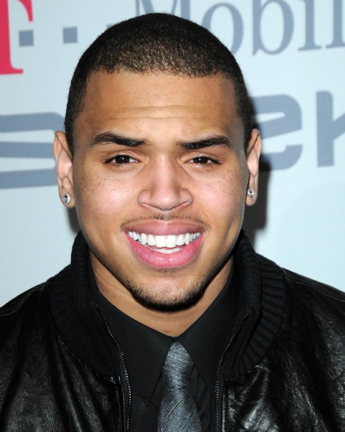 Chris Brown hairstyles 2012