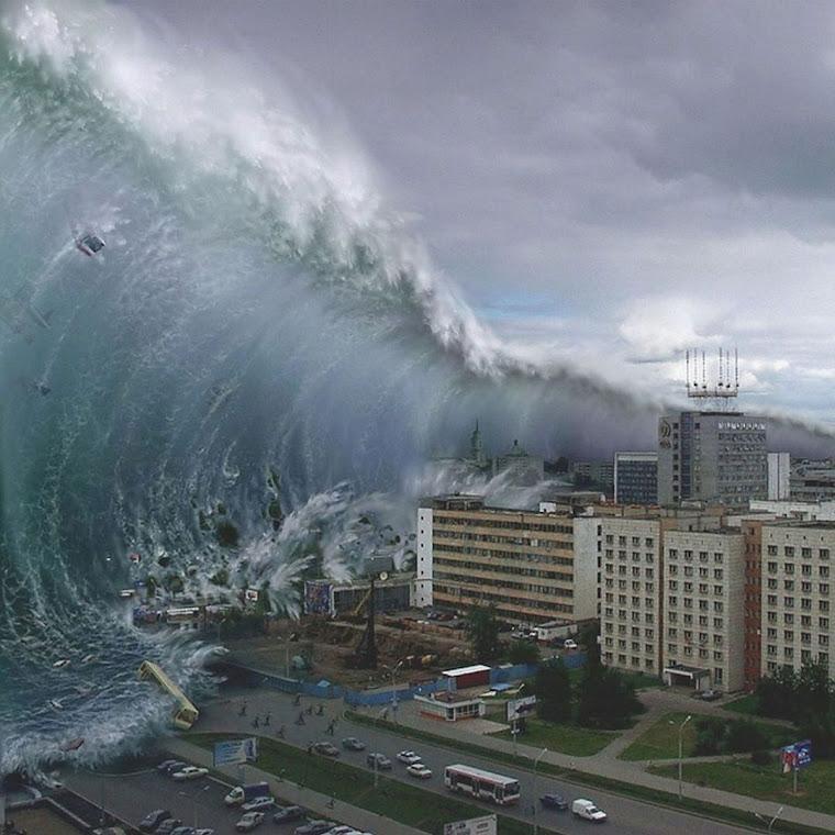 В ужасы Апокалипсиса входят цунами до 1000 метров, глобальные вулканические извержения и всепроникающее истребление человечества Ангелами Зла в обликах Чудовищных Монстров.