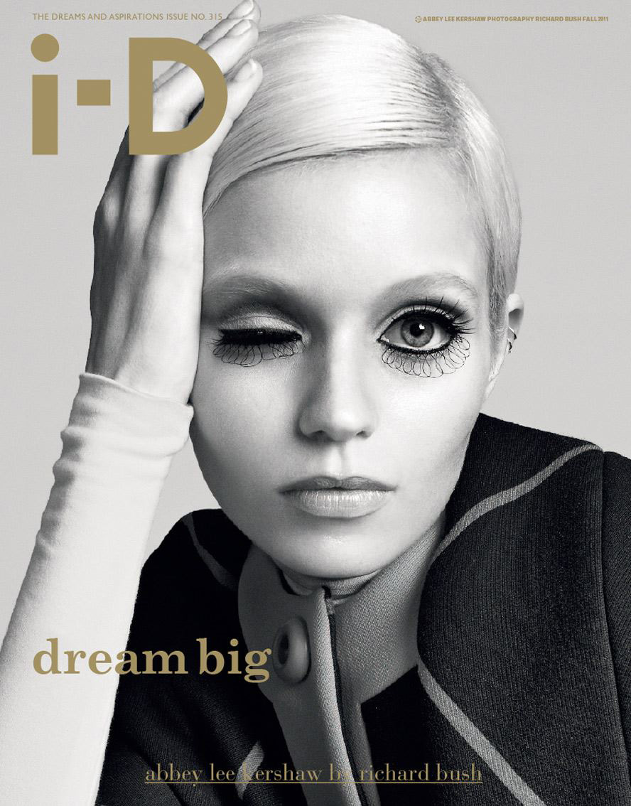 Abbey Lee Kershaw - i-D, Fall 2011
