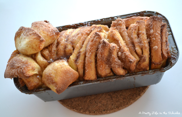 Cinnamon Sugar Pull-Apart Bread - A Pretty Life In The Suburbs