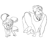 #9 The Croods Coloring Page