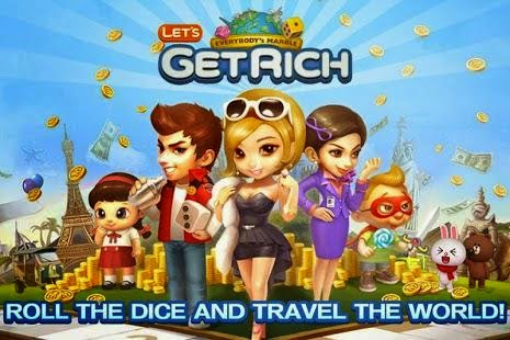Game LINE Let's Get Rich