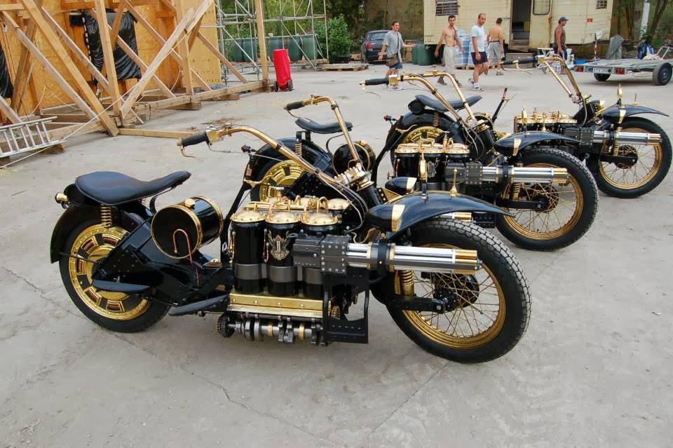 Mad Max Motorcycle >> Cool Stuff We Like: Steampunk Tendencies