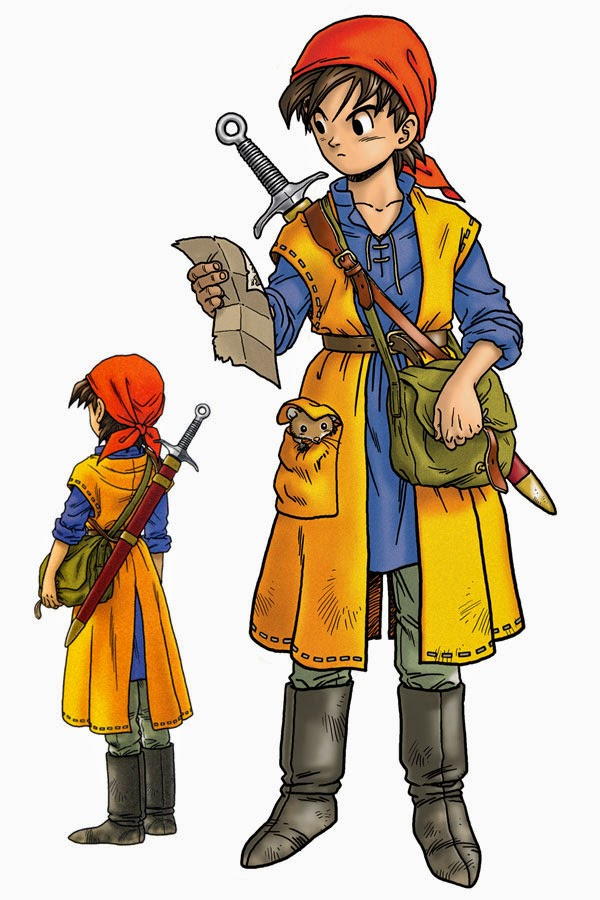 Hero Dragon Quest VIII
