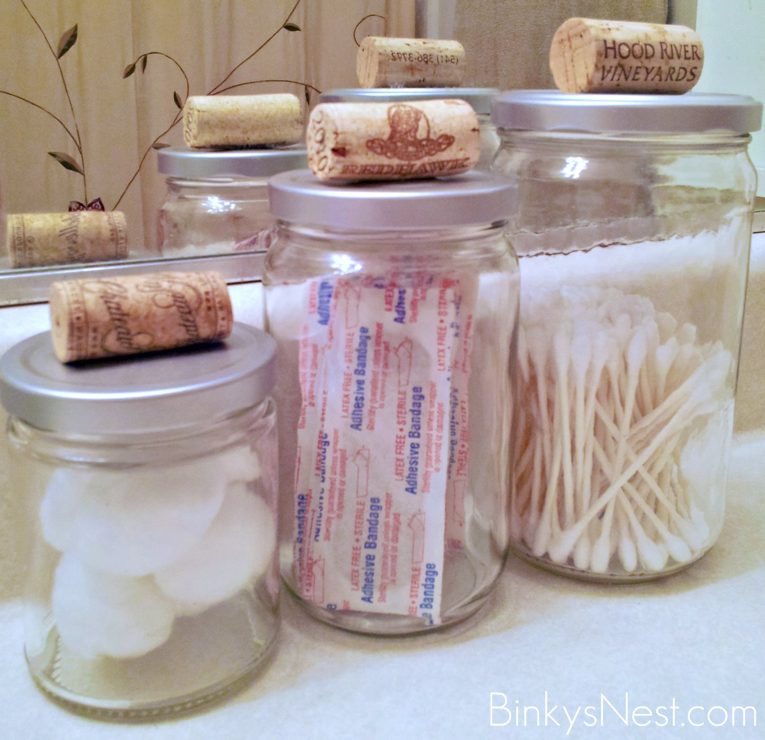 Kitchen Canisters Gl | Glass Bathroom Jars Home Design