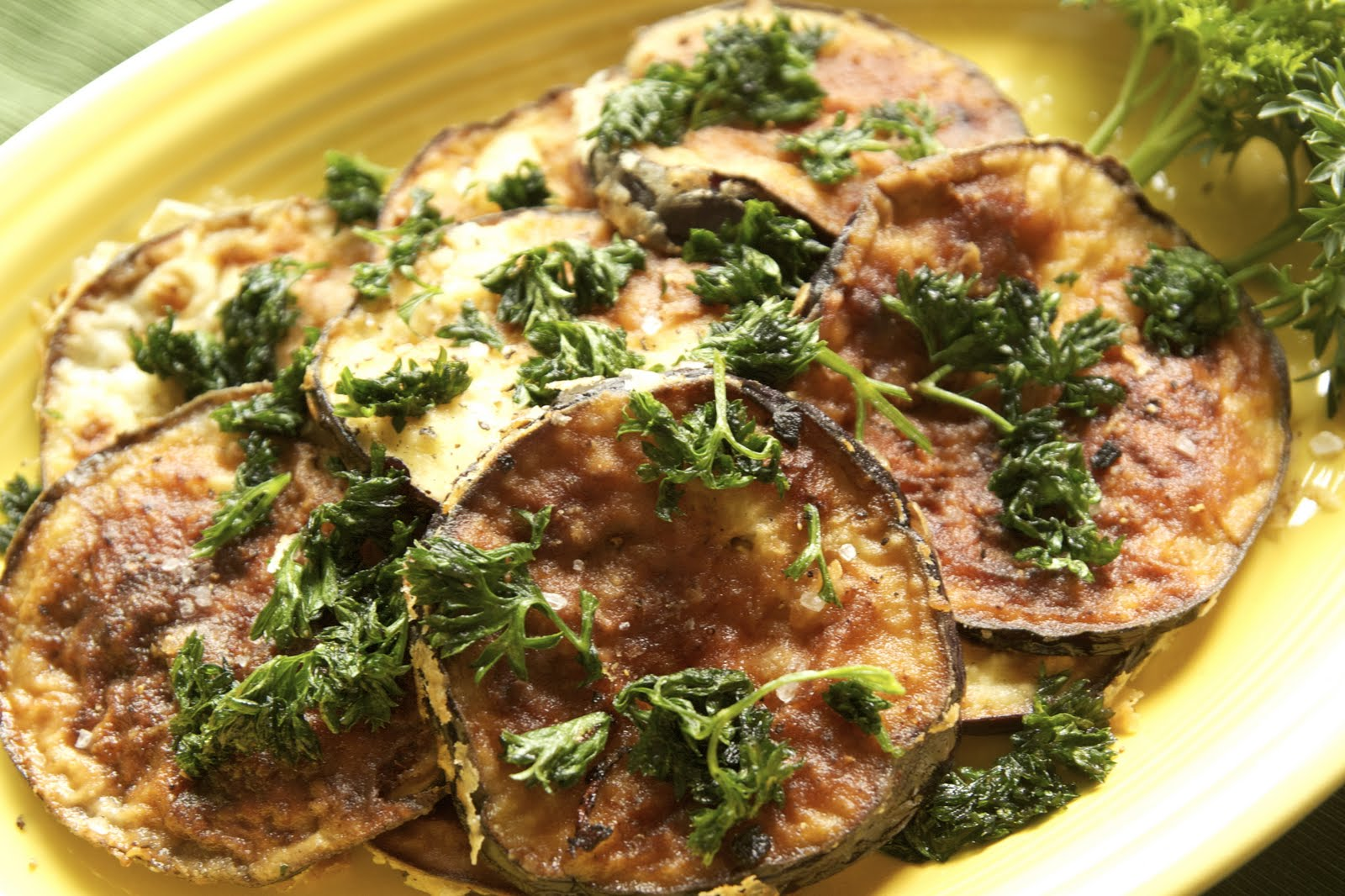 Smith\'s Vegan Kitchen: Eggplant Fritters - Vegetables from an ...