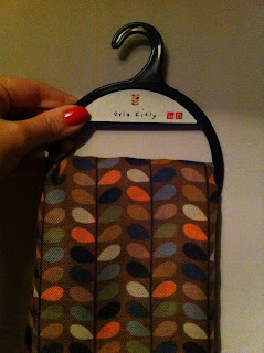 Orla Kiely multistem print scarf from Uniqlo