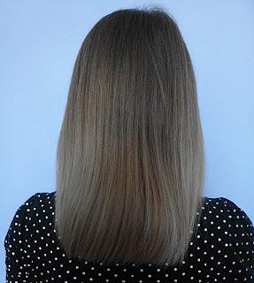 Aktualizacja włosów z krótkich do półdługich :)