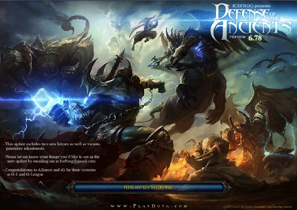"DotA 6.78 AI Download - Official Link by PBMN"" plus 2 more"