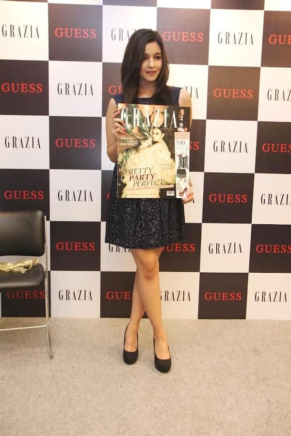 alia bhatt unveils grazia magazine party special issue. hot images