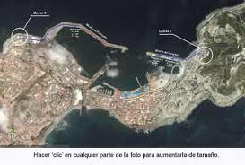 IMAGEN DE CEUTA SATELITE