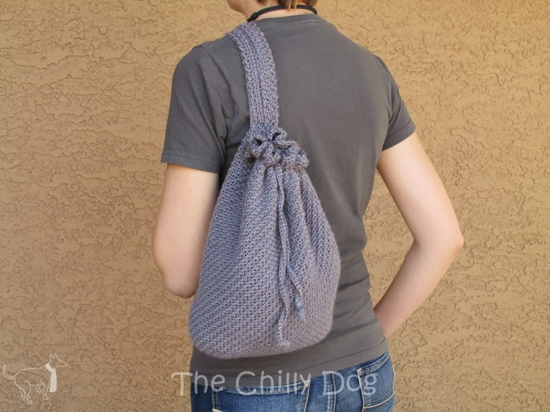 Easy Backpack Crochet Pattern : Free Crochet Pattern: Easy to make boho backpack purse The Chilly ...