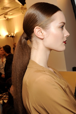 Fall/Winter 2011-2012 Hairstyle Trends- gucci