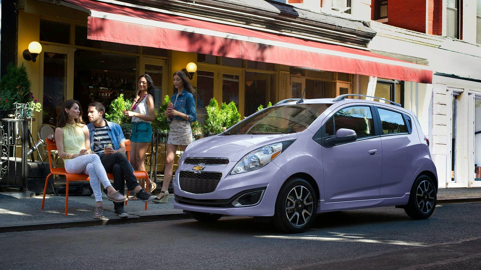 A Tasty New Selection Of Colors Available For 2016 Chevrolet Spark