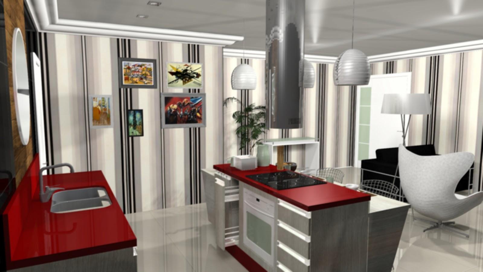 COZINHA ILHA BENEDITO ESTEVAM II Art Design Marcenaria #711D18 1600 900