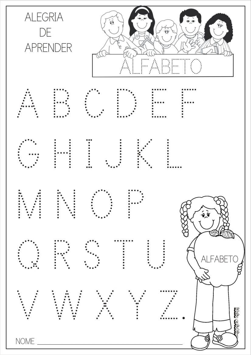 Super Alfabeto Pontilhado | Escolinha Lúdica :: UA17